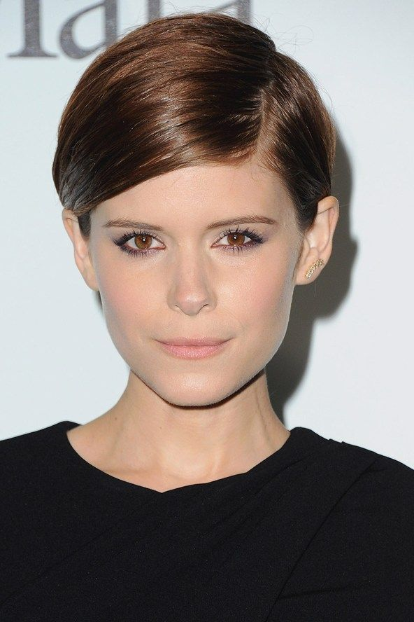Kate Mara Smooth Pixie....she looks so much prettier with short hair! Loved her in American Horror Story