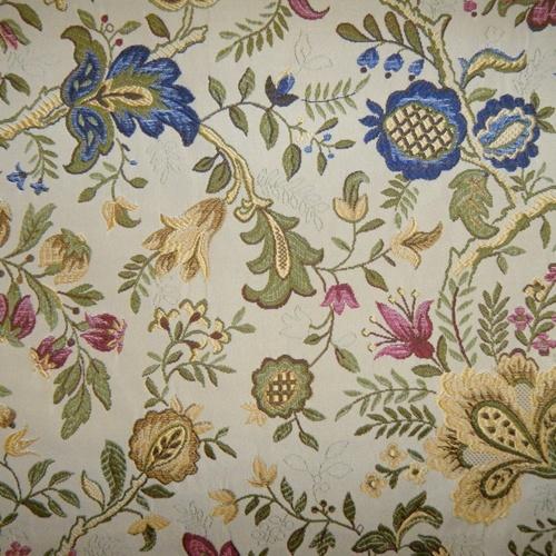 Drapery fabrics floral fabrics giorgio classic floral - Telas para tapiceria ...