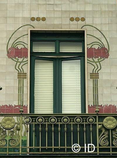 Otto Wagner's Majolica House - Vienna