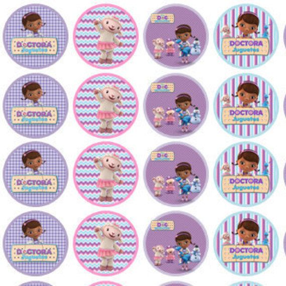 Hershey kisses doc mcstuffins labels stickers personalized Scrapbooking Party Printable Instant Download Digital candy labels Dra Juguetes