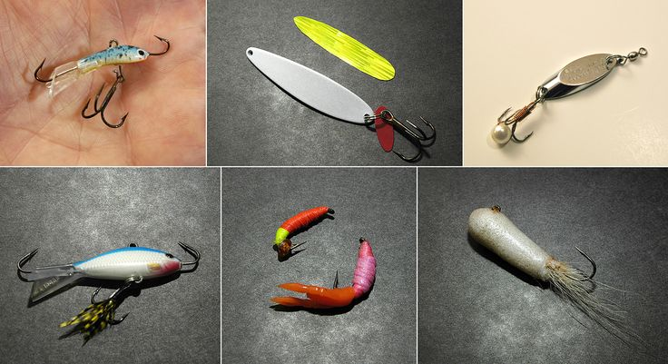 Modifying an ice fishing lure is about making it a better bait.