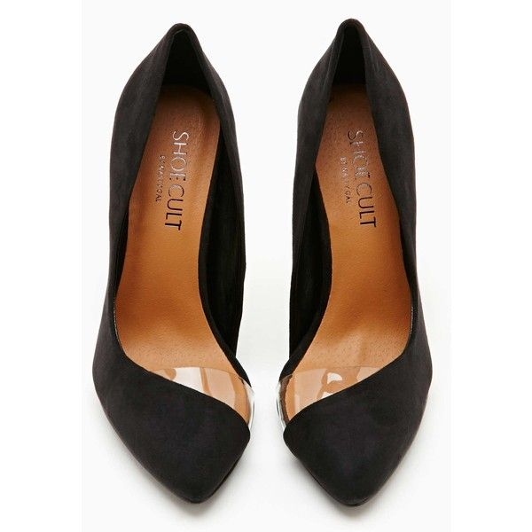 Shoe Cult Clear Path Pump - Black