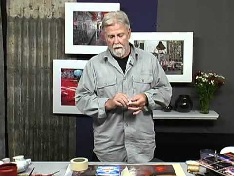 Lifting Watercolor with a Magic Eraser with John Salminen