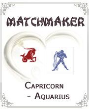 Capricorn Aquarius:- Compatibility tests are things that are worth trying. One can have fun by matching different zodiac signs to determine their fate in love, career, and money. Of course, love would always be the most popular choice for compatibility tests....