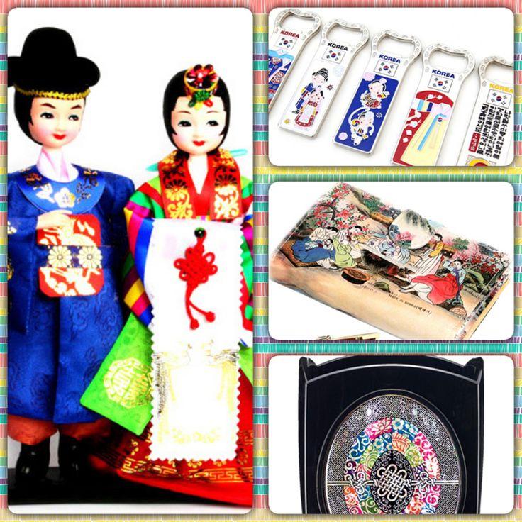 Best souvenirs from South Korea~ #Korea    #Koreansouvenir #madeinKorea #Koreandoll #Koreafolkvillage #한국 #전통 #민속 #한국기념품 #공예품 #해외여행 #바이어선물 #한국관광 #유학생 #외국인선물 #기념품