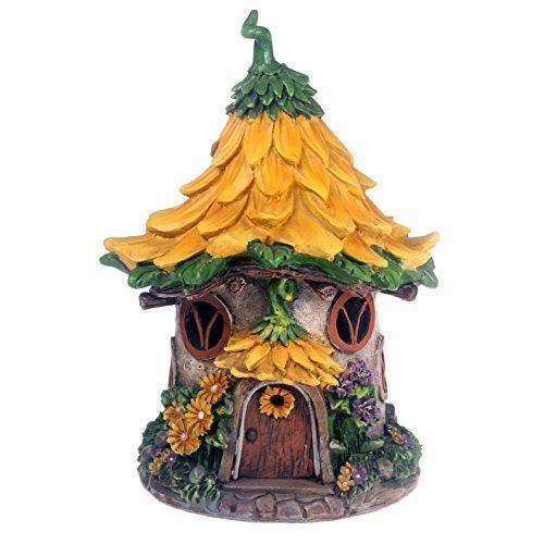 Fairy Dwellings Solar Mushroom Light, Rechargeable Patio & Garden Ornament