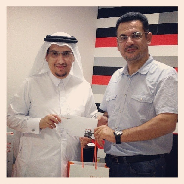 Congratulations to our winner from #Qatar Mr. Jamal Al-yafei for winning our weekly prize worth QR650!