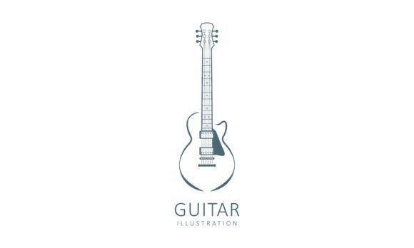 Acoustic Guitar Electric Guitar Design Graphic By Deemka Studio Creative Fabrica In 2020 Electric Guitar Design Guitar Design Business Brochure