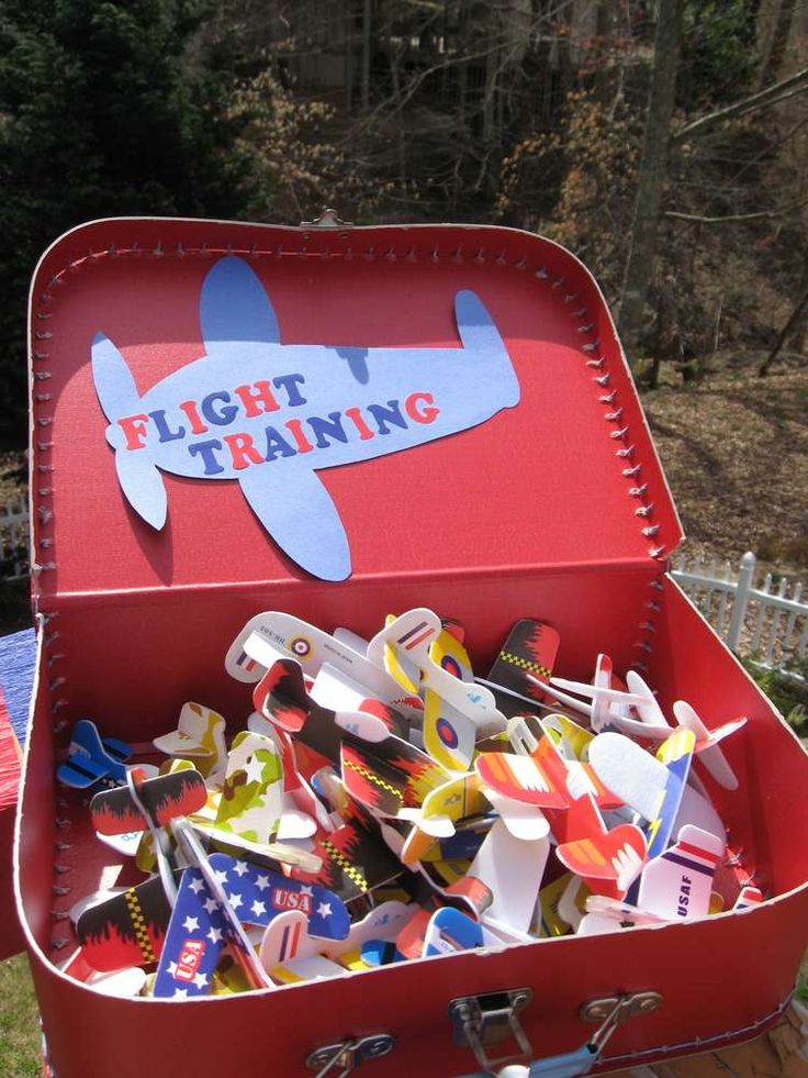 Airplanes Birthday Party Ideas | Photo 30 of 56 | Catch My Party