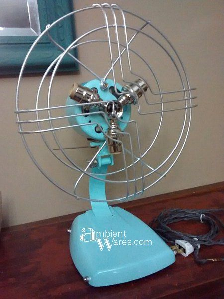 Light up a Room with an Old Fan