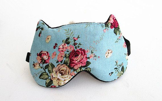 Eye mask Sleep mask eye sleep mask Kitty eye mask by BowFantasy, $12.75