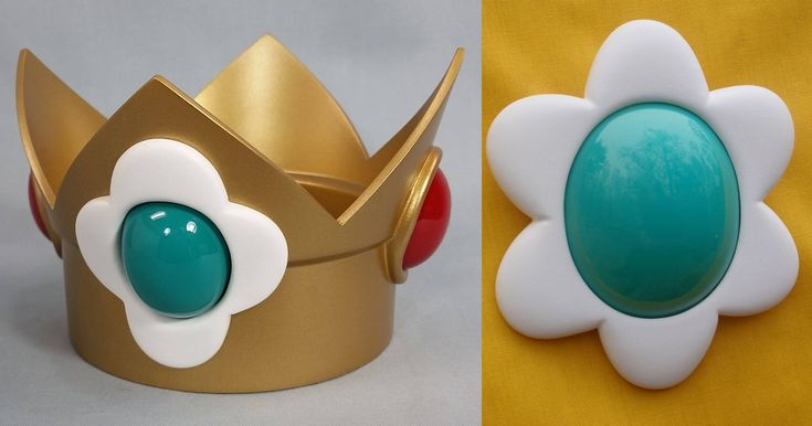 Princess Daisy Crown and Jewel by PerfectTommyAutomail on Etsy https://www.etsy.com/listing/112720626/princess-daisy-crown-and-jewel