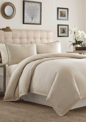 Tommy Bahama Sandstone Shoreline Woven California King Comforter Set