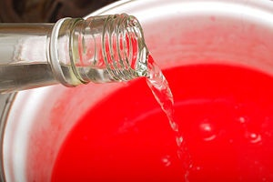 How-to jello shots based on alcohol proof.