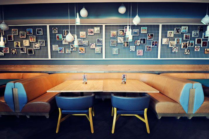 Nando's in Ashford (Kent, UK) by Blacksheep   Yatzer {Sugestão para sala de jantar}