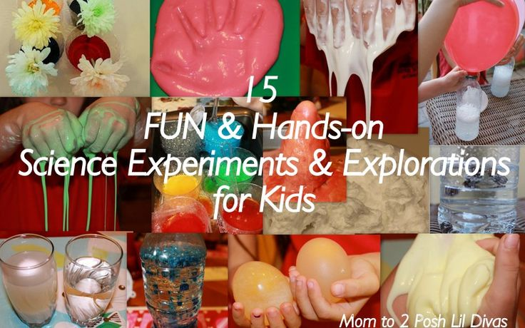 Kids Science Experiments!