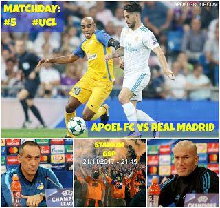 APOELGROUP.COM: MATCHDAY: APOEL FC - REAL MADRID «Θρύλος είσαι και...