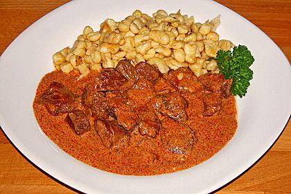 Rahmgulasch aus dem Crock Pot / Slow Cooker, ein gutes Rezept aus der Kategorie Schmoren. Bewertungen: 5. Durchschnitt: Ø 3,9.