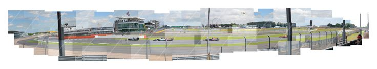 Silverstone British Grand Prix 2016 Limited Edition Print, Wellington to National Pit Straight Hockney Inspired Formula 1 Panoramic by AlOmatic on Etsy