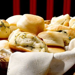 The Hunger Games Feast: Recipes from Panem. *Refrigerator Yeast Rolls* Rolls  The breads offered at the Capitol reflect the variety in the districts. While we don't have a recipe for seaweed-tinted, fish-shaped bread, we do have a yeast roll recipe that offers you three different styles of bread: yeast rolls, herb rolls, and cinnamon rolls. We'd like to claim citizenship in the cinnamon roll district, please.