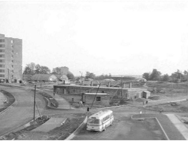 Sídliště Březenecká - před výstavbou školy