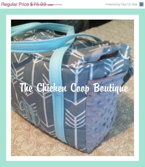 ON SALE Custom Diaper Bag Tribal Baby by ChickenCoopBoutique