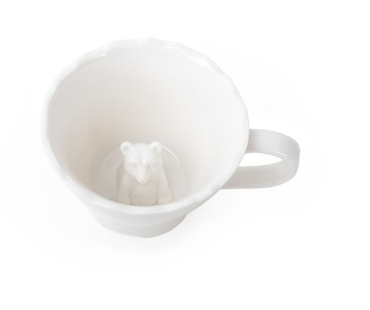 Hold a tea party that is full of surprises. What a delight, as you drink up, an animal will appear in your cup. Perfect for hot or cold beverages, The Hidden Animal Teacups reveal a fox, an owl and a bear, oh my! http://www.zocko.com/z/JFEof