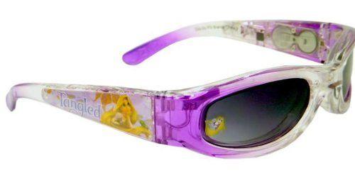 Disney Tangled Light-up Sunglasses Translucent Purple Grey Disney. $8.83