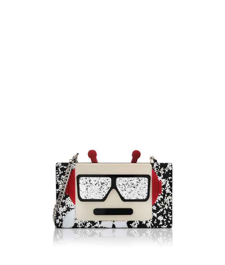Are you looking for KARL LAGERFELD women's MINAUDIERE ROBOT? Discover all the details on KARL.COM. Fast delivery and secure payment.