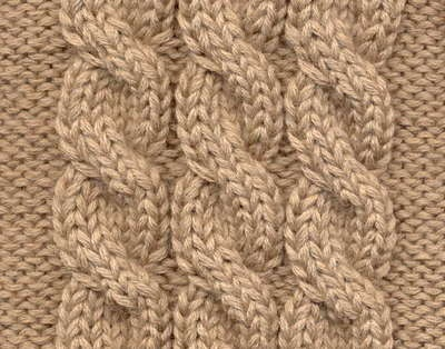 Braids: how to knit braids
