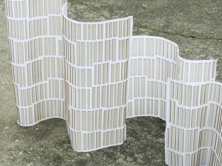 #WoodenMesh II by Diego Vencato || A high tech composite material: a new skin made of white wood and linen. #diegovencato #wood #textile