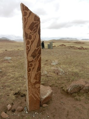 Mongolian deer stones. Experts date them to the Bronze Age. Near the town of Moron.: Ancient Inspirations, Ancient Sites, Megaliths All, Ancient Civilizations, Megalith Menhir, Ancient Writings, Deer Stones, Ancient Artifacts, Inspiration Ii