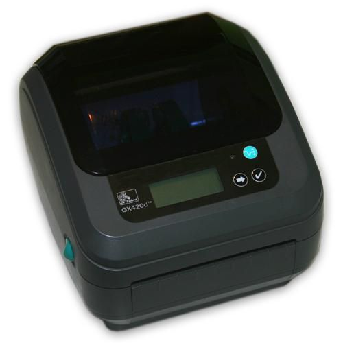 Zebra GX420d Bluetooth Thermal Shipping Label Printer with LCD GX 420d