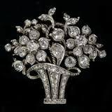 Diamanten Broche