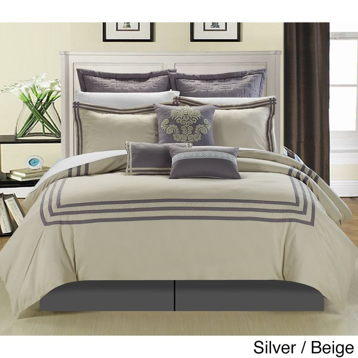 This 8-piece lavish comforter set comes with everything you need to do a complete makeover for your master or guest suite.
