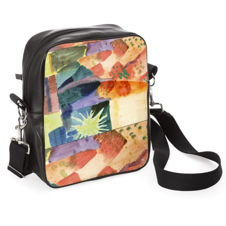 """""""Macke/Xp""""  - Size 30cm x 26cm x 10cm Three pockets with zip closure Lined interior in suede fabric Removable shoulder strap with quick hooks."""