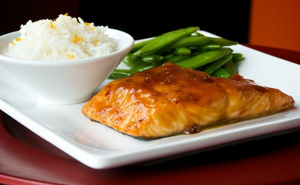 Ginger Teriyaki Salmon I make my own marinade in place of the ...