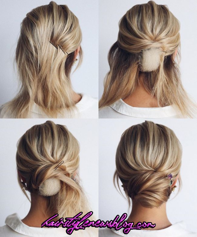 26 Gorgeous and Elegant Wedding Hairstyles Inspirations for Your Big Day | Short hair updo, Bridal hair updo, Wedding hairstyles tutorial   26 Gorgeous and Elegant Wedding Hairstyles Inspirations for Your Big Day | Short hair updo, Bridal hair updo, Wedding hairstyles tutorial