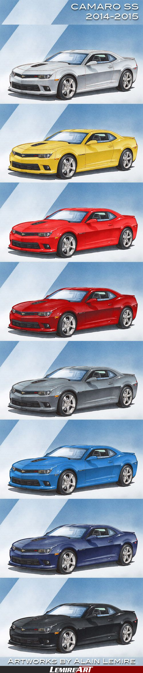 To see and why not, to buy the CAMARO SS 2014-2015 art print: https://www.lemireart.com/automotive-art/2014-2015 camaro-ss/