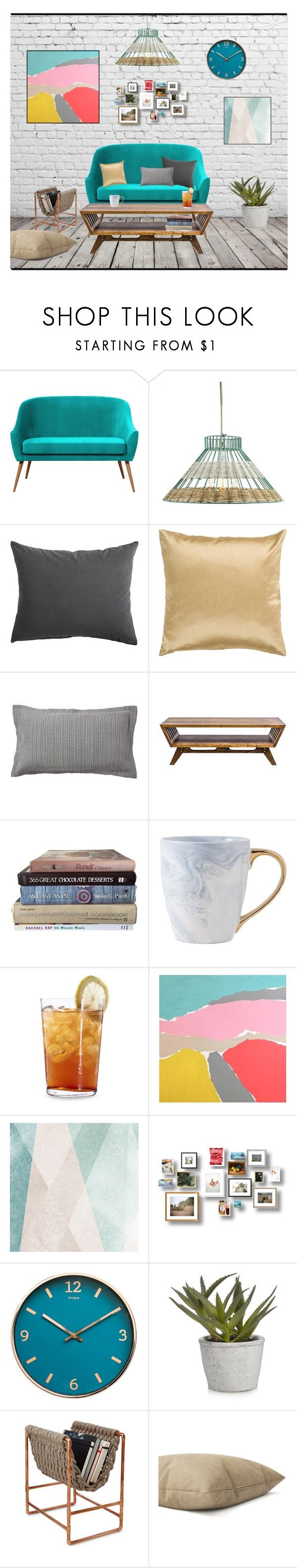 """""""Untitled #214"""" by elenh-tata ❤ liked on Polyvore featuring interior, interiors, interior design, home, home decor, interior decorating, Holly's House, Surya, Pottery Barn and MODERNCRE8VE"""