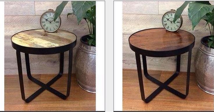 New wood and metal tables coming soon…