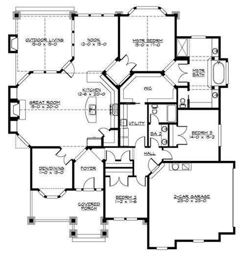 17 best images about house plans on pinterest european for Safe room design plans