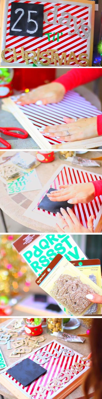 Holiday Countdown | 20 DIY Christmas Bedroom Decor Ideas for Teen Girls