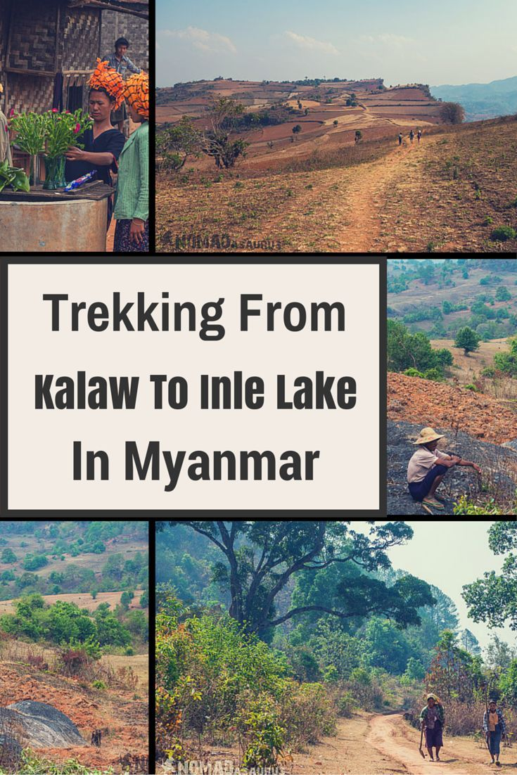 Taking the three day, two night trek from Kalaw to Inle lake was a great experience, and one of our highlights from #backpacking in #Myanmar. #trekking #adventure #hiking #travel