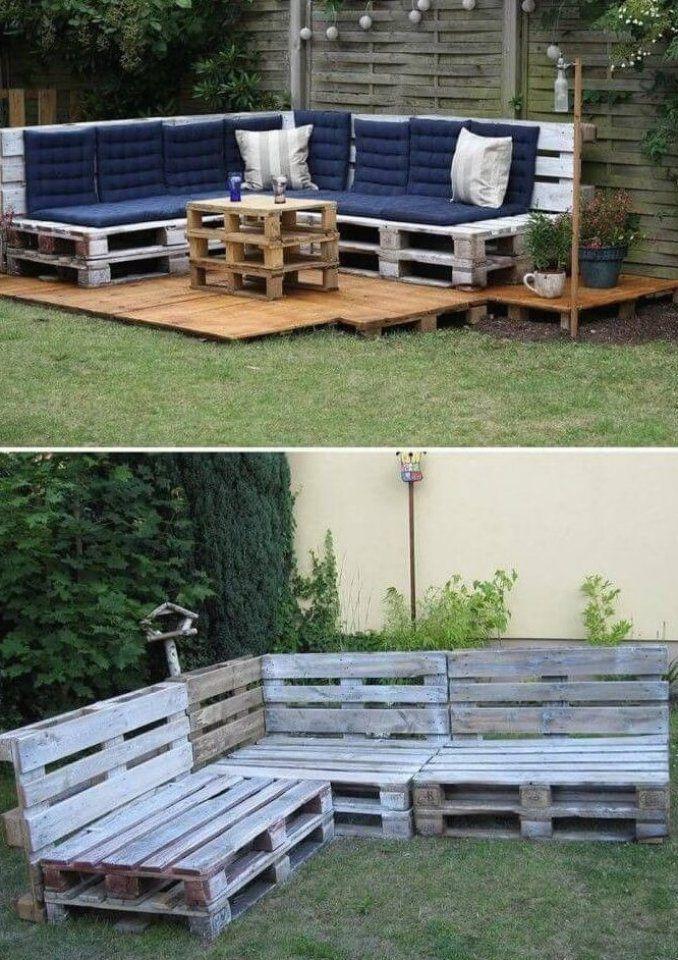 pallet patio furniture diy