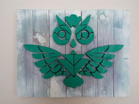 Owl - Wood Picture