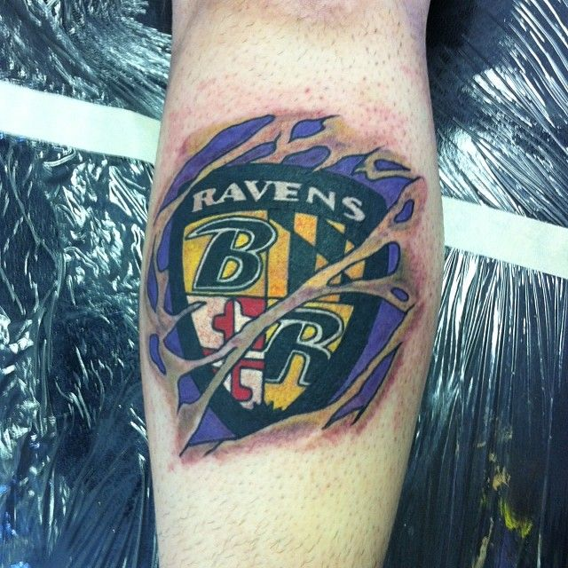 17 Best Images About Baltimore Ravens Tattoos On Pinterest