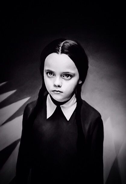 "Halloween Quotes: ""I'll stop wearing black when they make a darker color."" - Wednesday Addams"