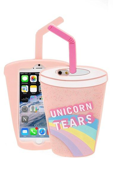 SKINNY DIP 'Unicorn Tears' iPhone 6 Case available at #Nordstrom