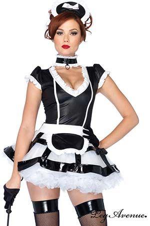 Costume Maîtresse de Maison Coquine Leg Avenue #legavenue #costumes #déguisement #halloween